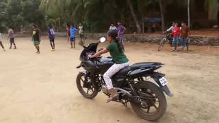 Incredible Little Girl bike stunts | Pulsar Bike Stunts 2016 | People are awesome 2016