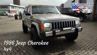 1986 Jeep Cherokee 4x4 | VS-import.nl