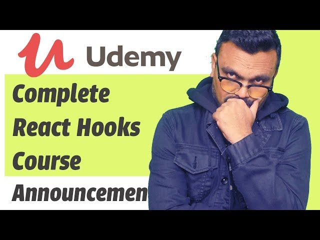React Hooks Udemy Course Announcement with Free Offer Inside