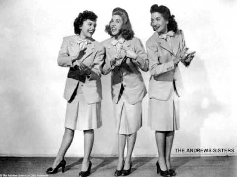The Andrew Sisters  In The Mood  1953