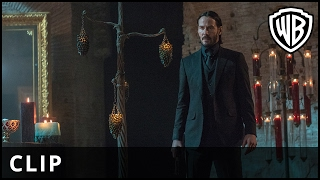 "John Wick: Chapter 2 – ""Suited"" Clip - Warner Bros. UK"