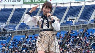チーム8#なるちゃん#倉野尾成美#春フェスAKB @JAM EXPOのようなフェス形式の短めのライブステージですが、メインステージは全編撮可タイムとの事...