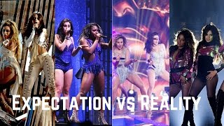 FIFTH HARMONY: Expectation vs Reality (Studio vs Live)