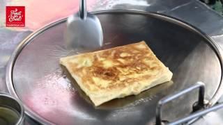Pattaya Street Food   Thai Pancake Banana And Egg Roti - Beach Road   Thai Street Food