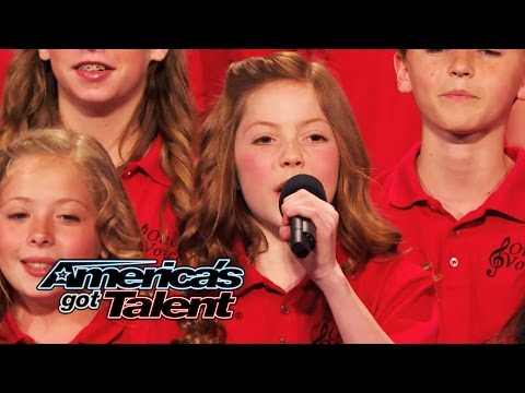 "One Voice Children's Choir: ""Burn"" Cover Gets Howard Stern on His Knees - America's Got Talent 2014"