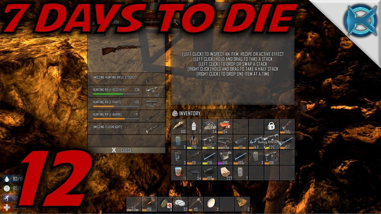 7 days to die crafting 7 days to die ep 12 quot crafting guns quot gameplay let s 5828