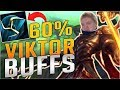 NEW RUNES + VIKTOR BUFFS = NEW GOD MID LANER?? New Viktor Mid Gameplay - League of Legends