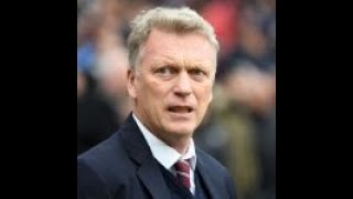 David Moyes to 'deal with' Andy Carroll's early departure from West Ham bench