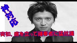 「NHKのど自慢」に出演したSMAPの木村拓哉さん(42)が、一般出場者に鳴...