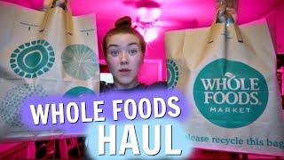 HEALTHY WHOLE FOODS HAUL (What I Eat) | Kenzie Borowski