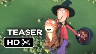 Room on the Broom Official Teaser (2013) - Oscar Nominated Animated Short Movie HD