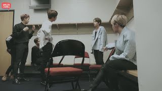 Download [INDO SUB] BTS V and Jin Fight On The Backstage Wings Tour (1/2) #BTSMoments