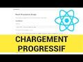 Chargement d'image progressif en REACT (medium style)