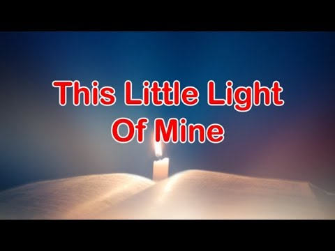 This Little Light Of Mine | Lyrics | Kids Song | Sunday School Song | Children Songs|
