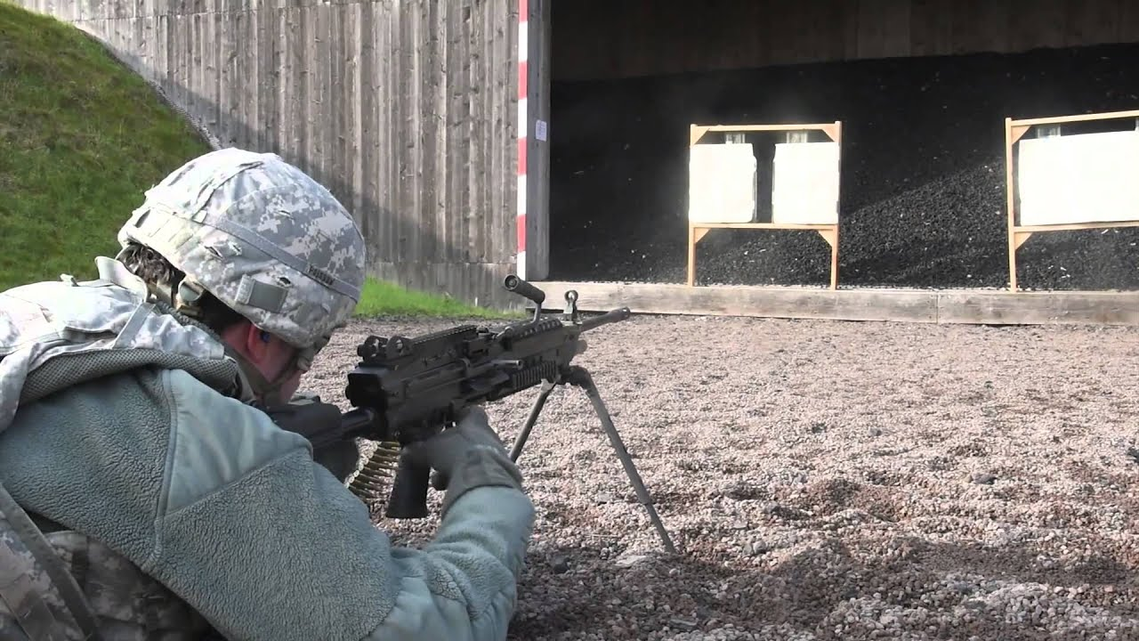 M-249 Light Machine Gun Weapon Qualification