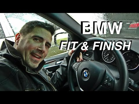 BMW X5 and M5 Fit and Finish Issues