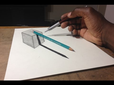 How To Draw 3D Pencil Sketches For Beginners