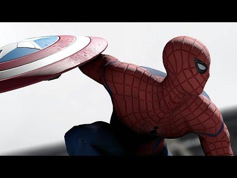 Spider-Man Gets a Surprise in 'Civil War' Trailer Alternate Ending