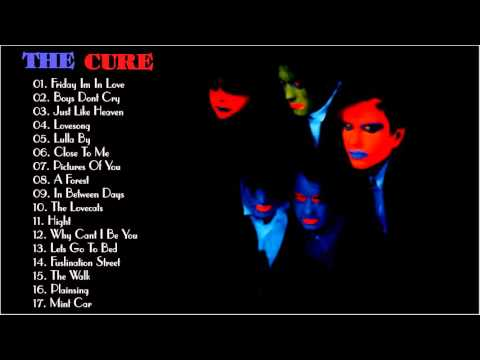 the-cure-collection-(playlist)---the-cure-greatest-hits-hd