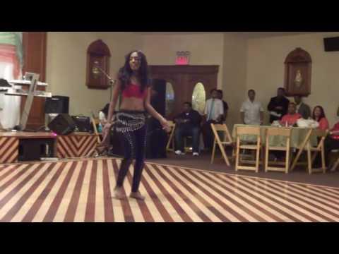 Princess AK dancing at Chutney Explosion 2014