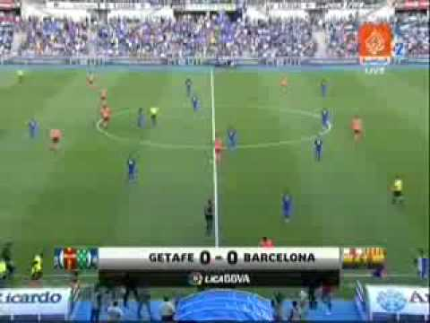 Liga 2009-10 Jornada 02 - Getafe 0 - 2 FC Barcelona