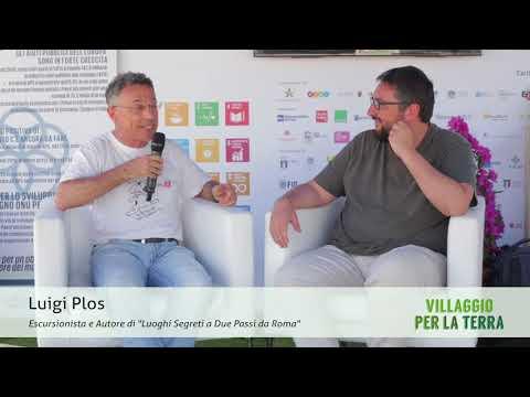 """Luigi Plos, autore di """"Luoghi segreti a due passi da Roma"""""""