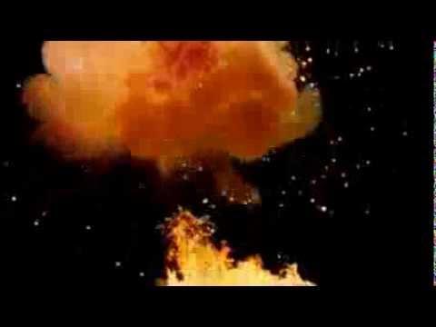 Взрыв для монтажа со звуком