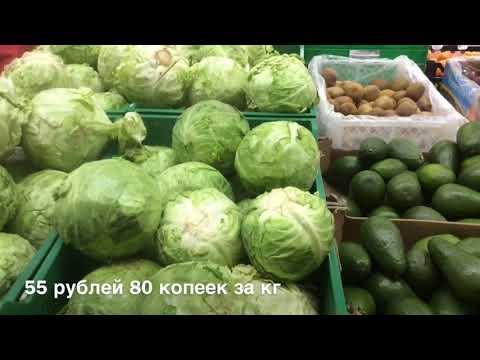 Цены на повседневные продукты в Вологде.