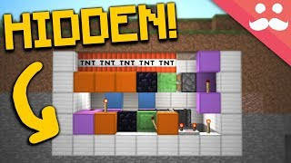 10 HIDDEN WEAPONS AND TRAPS in Minecraft!