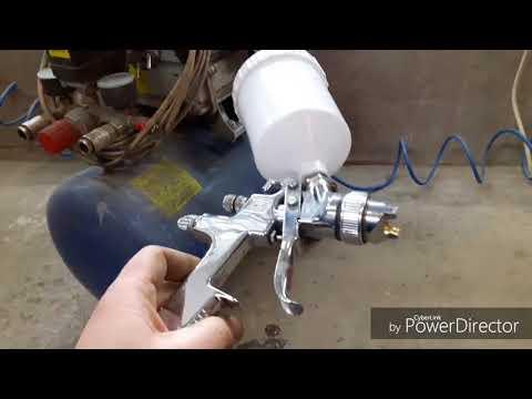 Как подобрать компрессор для краскопульта