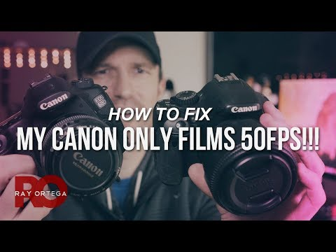 Why You Can't Find 60fps On Your Canon DSLR - PAL Vs NTSC