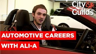 Automotive Careers at Jaguar Land Rover with Ali-A