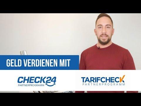 Check24 Partnerprogramm - Geld verdienen als Affiliate (Tarifcheck Partnerprogramm)