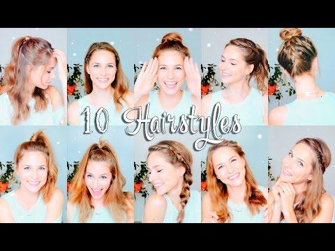 10  БЫСТРЫХ ПРИЧЕСОК В ШКОЛУ /УНИВЕР►Back To School Hairstyles 2016| Снова В Школу!