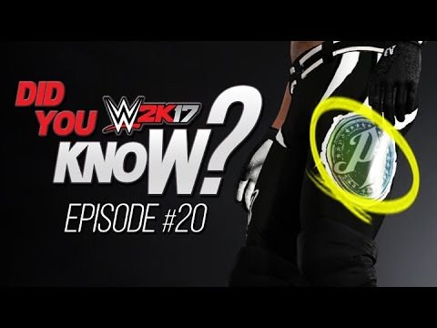 WWE 2K17 Did You Know? Grounded Forearm, Custom Logo Materials & More! (Episode 20) thumbnail