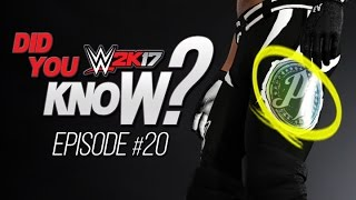 wwe 2k17 did you know grounded forearm custom logo materials more episode 20