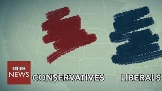 Where do you fit on the US political spectrum? - BBC News