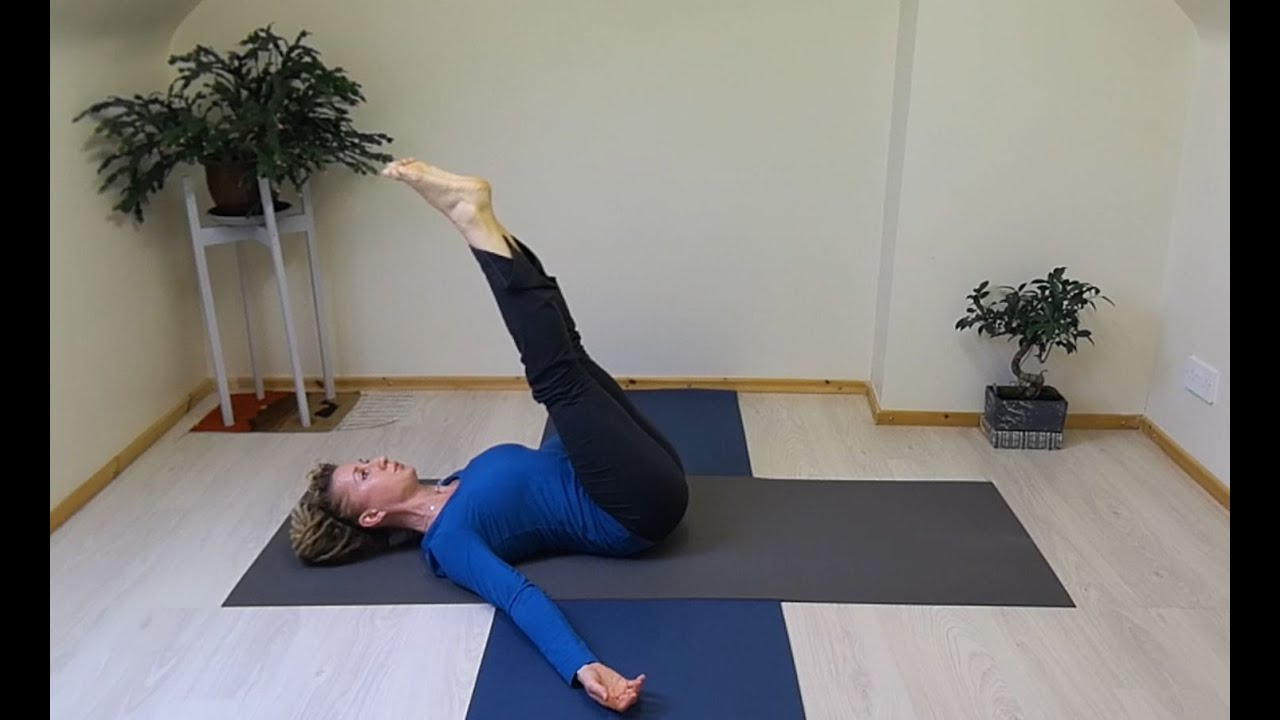 Pilates Jack knife Exercise - Modifications for Beginners to Intermediate