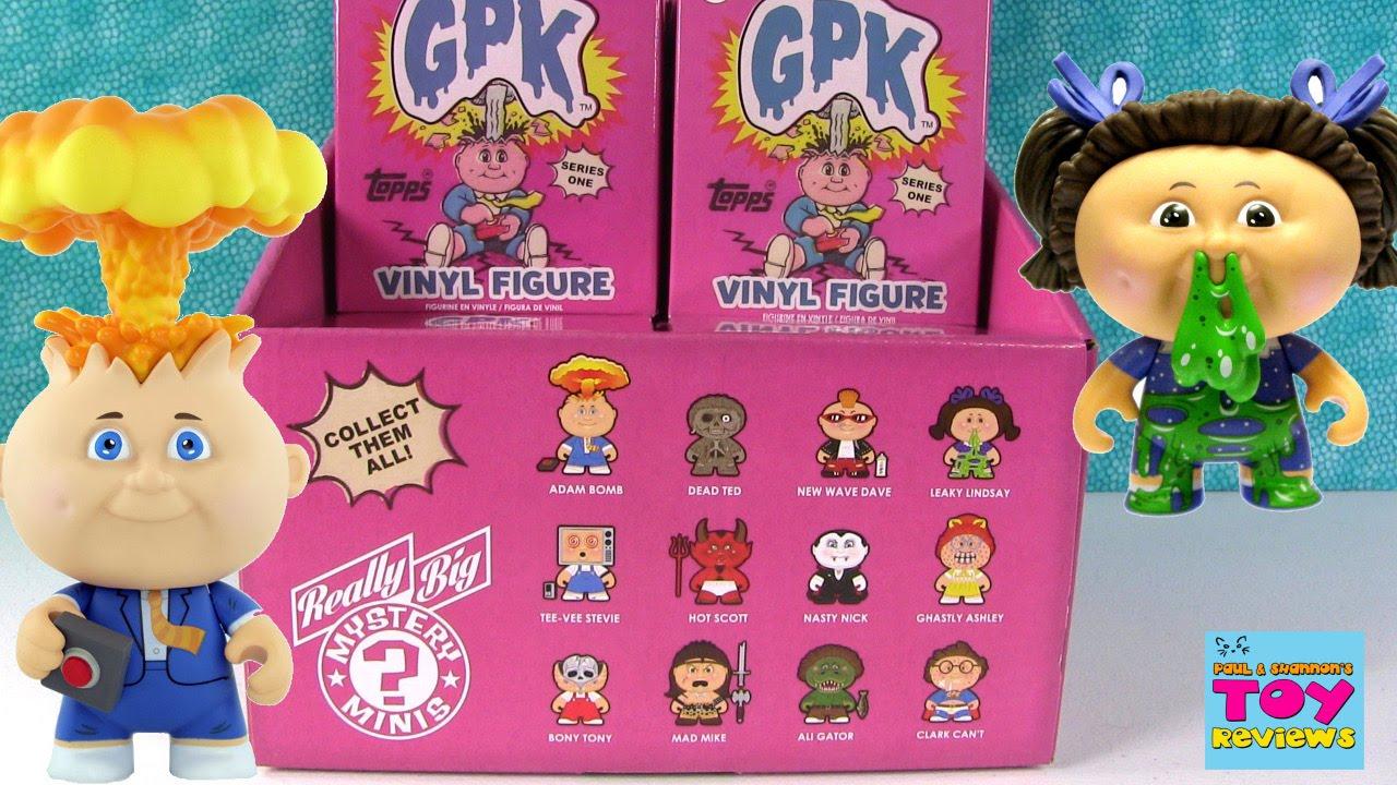 Really Big Minis GPK Garbage Pail Kids Series 1 Blind Box