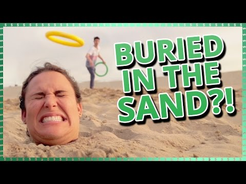 Burying Strangers in the Sand | Do It For The Dough w/ Ayydubs and Hunter March