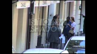 Anthony Kiedis with his new girlfriend in Paris