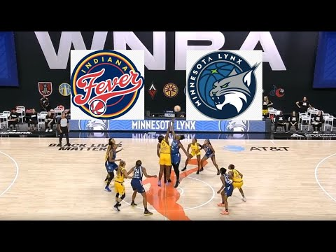 WNBA Indiana Fever Vs Minnesota Lynx Basketball Game Highlights August 7 2020