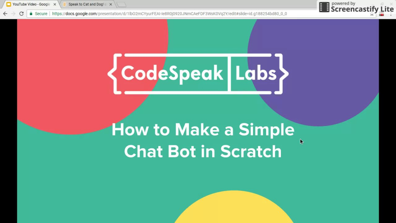Tutorial: How to Make a Simple Chat Bot in Scratch