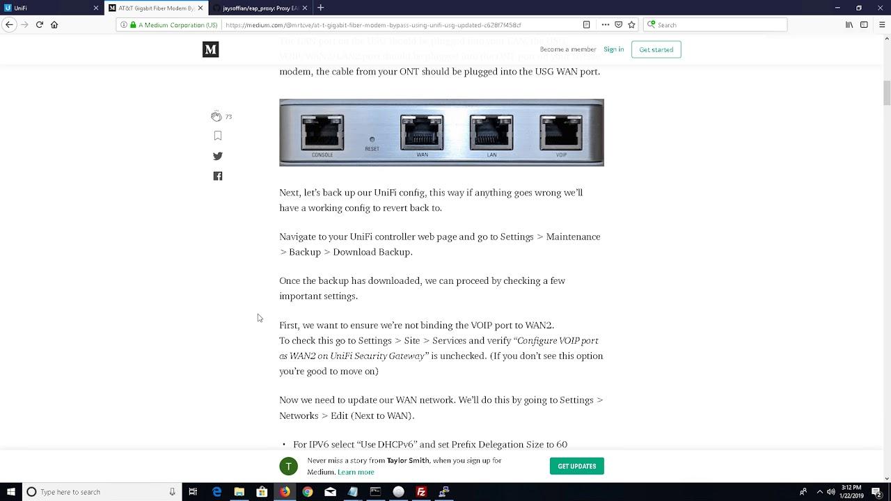 Cascaded Routing on ATT Gigapower (It still Nats) by DVR Tech