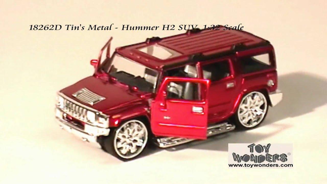D Tins Metal Hummer H2 SUV 132 Diecast Wholesaleg