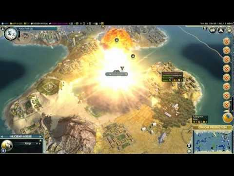 Civilization 5 Atomic bomb & Nuclear missile
