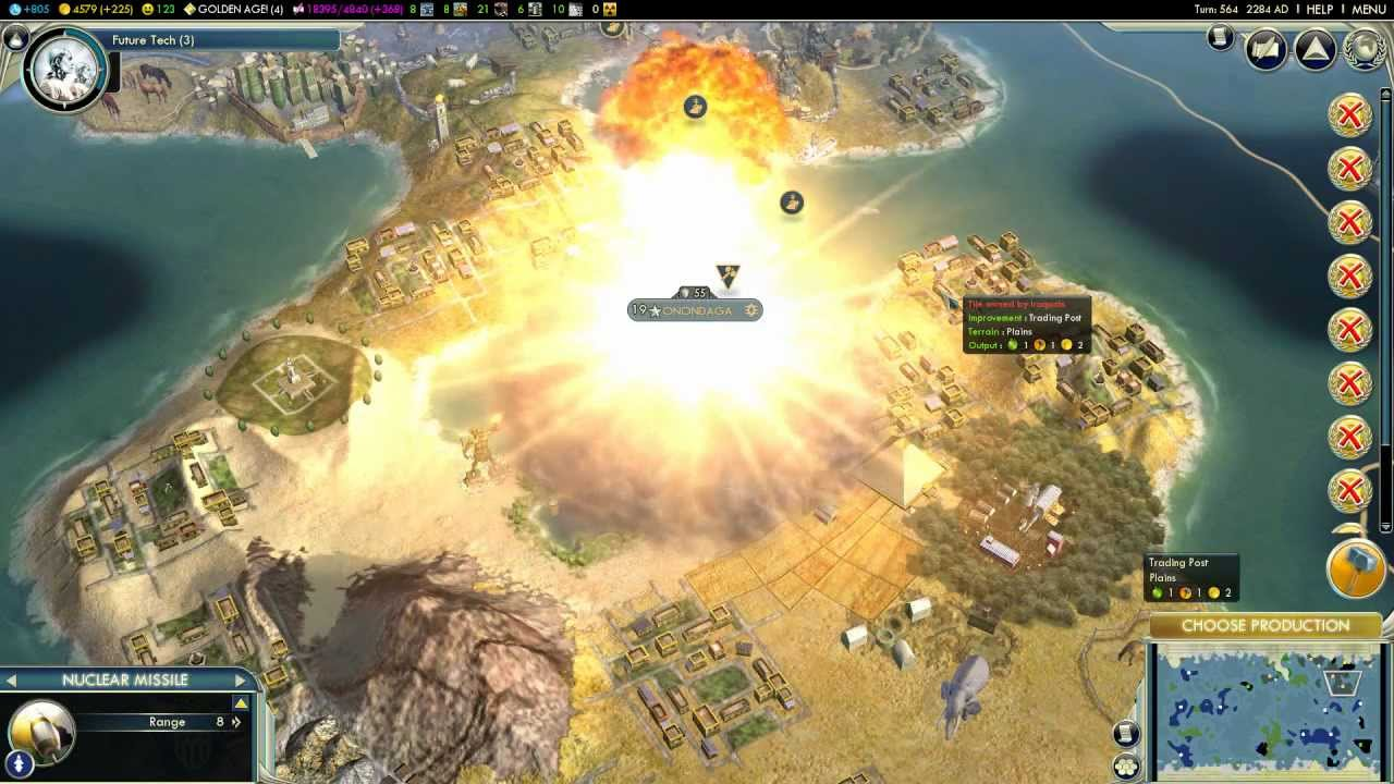 civilization 5 atomic bomb
