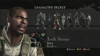 Resident Evil 5 Melee Moves (HQ): Josh Stone