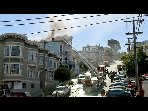 2-Alarm Fire Burns Victorian Apartment House in S.F. Castro District