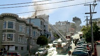 2-Alarm Fire Burns Victorian Apartment House in S.F. Castro District